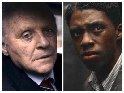 Boseman fans shocked over Hopkins' Oscar win