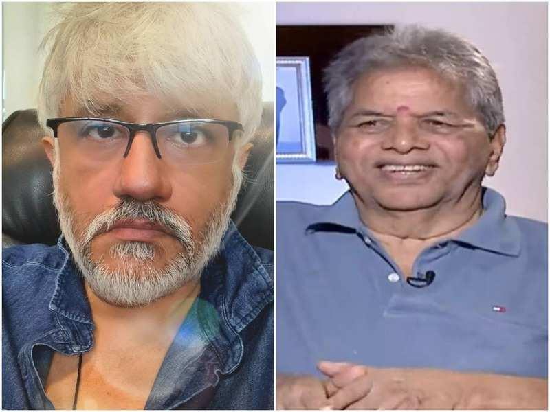 Vikram Bhatt and Waman Bhonsle