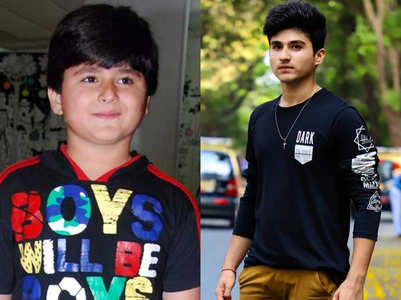 Chubby Rakshit Wahi is a fit teen now; photos