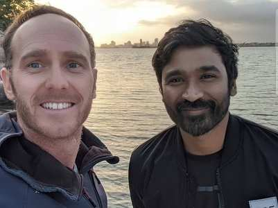 Dhanush shoots for 'The Gray Man'