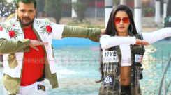 Khesari Lal Yadav and Ritu Singh's Bhojpuri song 'Aaja Raja Kiss Kar' goes viral