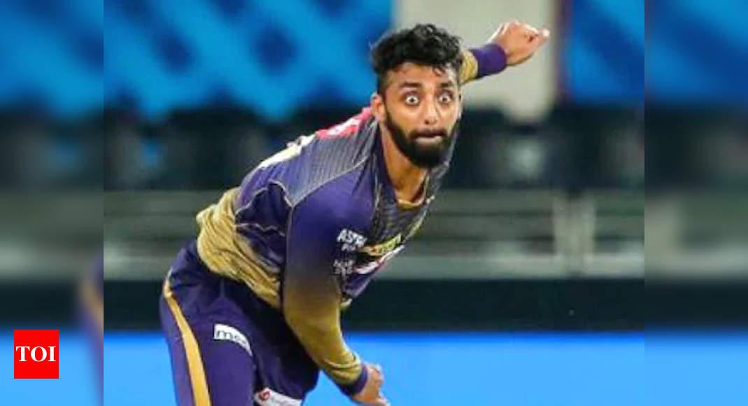 IPL 2021: Working on a new mystery ball, says KKR's Varun Chakravarthy   Cricket News – Times of India