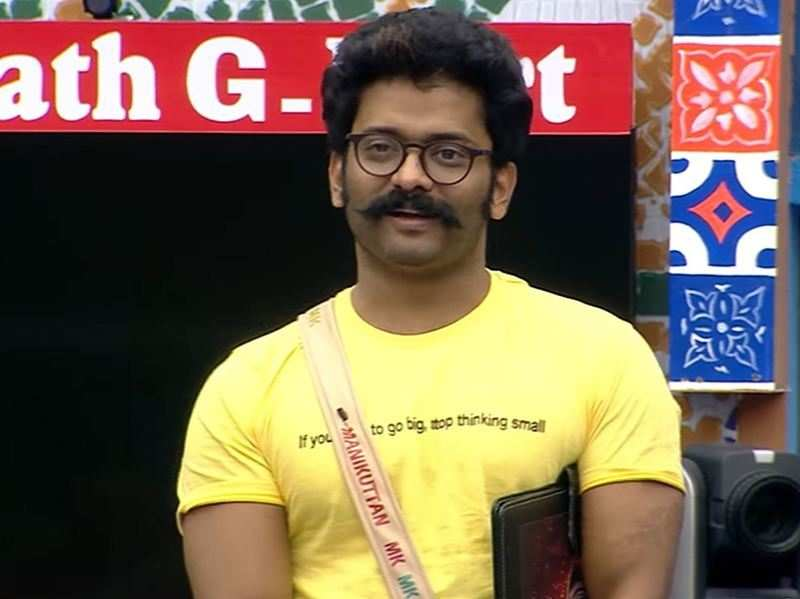 Bigg Boss Malayalam 3: Manikuttan quits the game, says 'I am afraid to continue in the house'