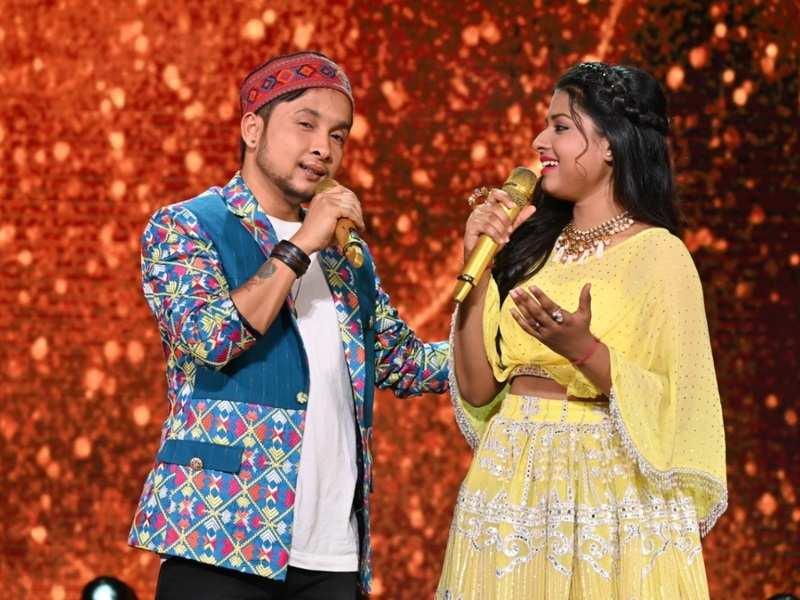 Arunita praises Pawandeep on Indian Idol 12, says, 'I missed my partner in crime'