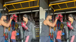 Anju Kurian's kickboxing session is sure to give you some fitness goals