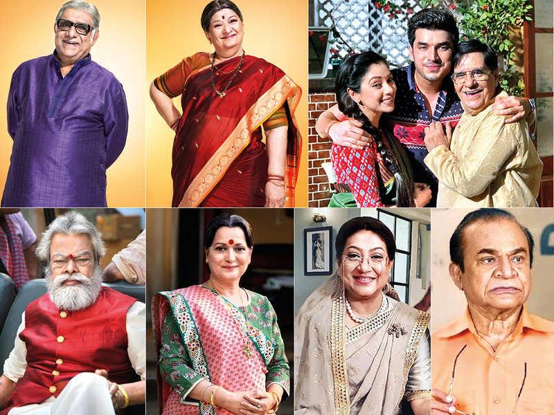 (Annjjan Srivastava, Bharti Achrekar, Arvind Vaidya with Rupali Ganguly and Paras Kalnawat, Anupam Shyam, Himani Shivpuri, Swati Chitnis and Ghanshyam Nayak)