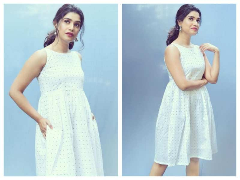 Rasika Sunil looks simply beautiful in this polka-dotted dress; see pics