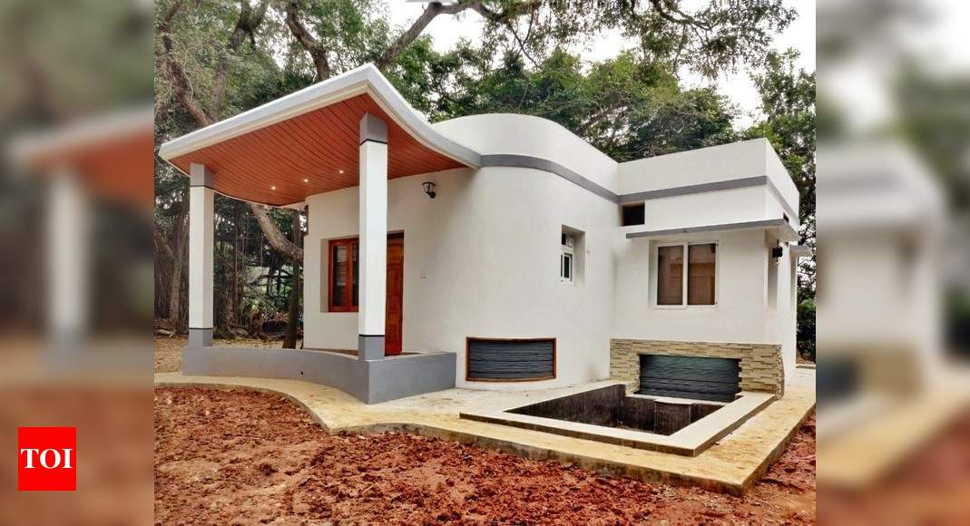 IIT-Madras startup builds India's first 3D printed house thumbnail
