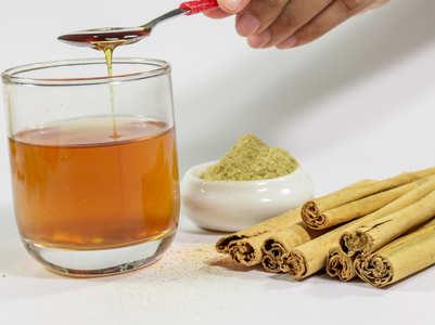 Honey cinnamon tea to boost immunity