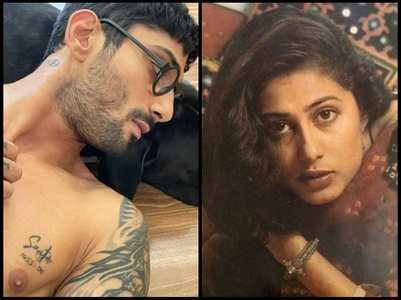 Prateik on getting his mom Smita's name inked