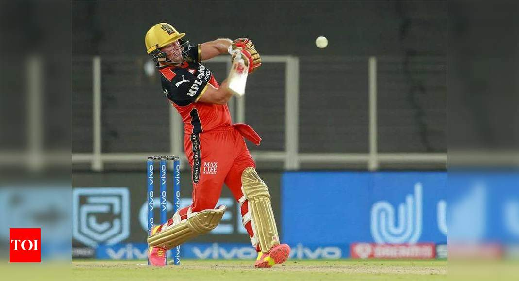 IPL 2021, DC vs RCB: De Villiers half-century powers RCB to 171/5 against DC   Cricket News – Times of India -India News Cart
