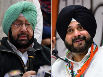 Finally, Captain Amarinder lashes out at Navjot Sidhu, challenges him to an electoral contest | India News