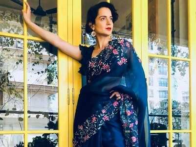 Kangana Ranaut's saree looks that we love
