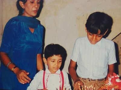 Abhinav's childhood b'day celebrations
