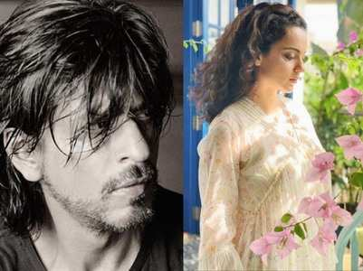 Kangana compares her journey with SRK