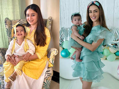 TV celebs who love to twin with their kids