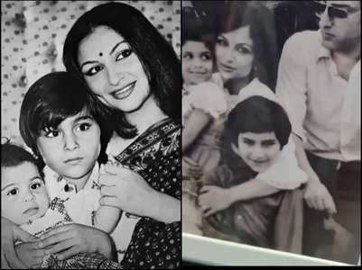 RARE PICS! Saif, Sharmila Tagore and family