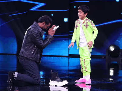 Remo does impromptu dance with Sanchit