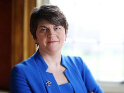 Northern Ireland First Minister Foster to step down after party revolt