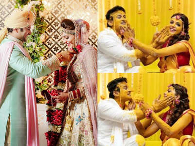 Unseen pics from Sugandha-Sanket's wedding