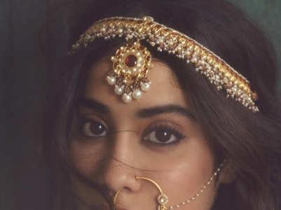 Janhvi Kapoor's stylish bridal shoot