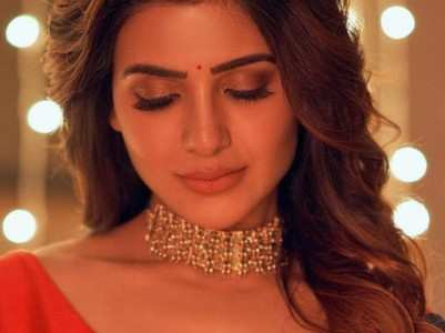 When Samantha dazzled in sarees