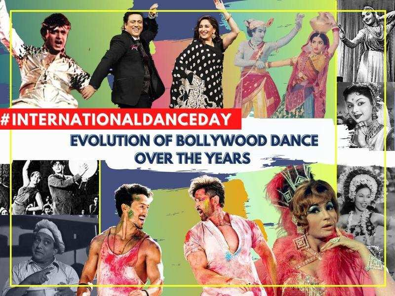 International Dance Day: How has Bollywood dance evolved over the years