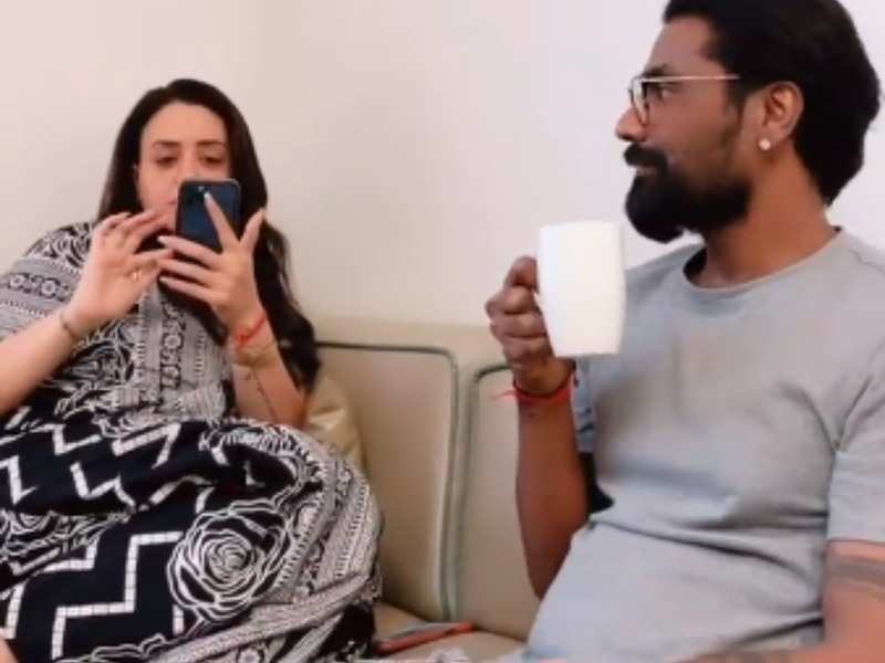 Super Dancer 4 judge Remo D'Souza jokes about his wife wanting to see everything on his phone in this funny video