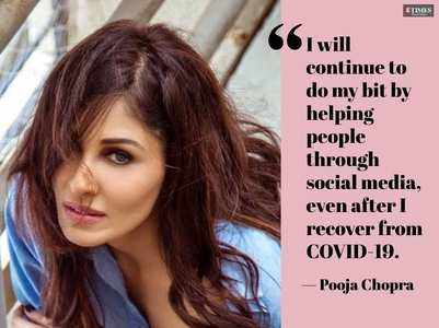 Pooja Chopra: Will donate plasma
