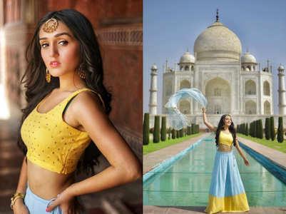 Tanya Sharma on shooting at the Taj Mahal