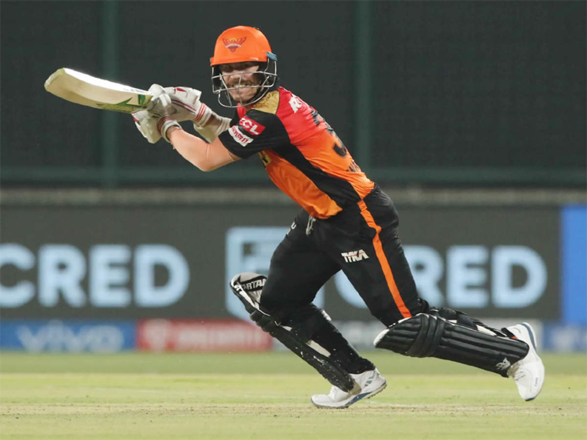 David Warner becomes first batsman to smash 50 fifties in IPL, completes 10,000  T20 runs | Cricket News - Times of India