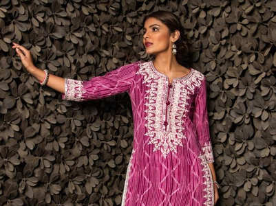 Cotton kurtis that are perfect for summer dressing