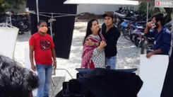 Anvita and Shalva shoot in Daman for their TV show