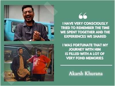 Karwaan director Akarsh Khurana on Irrfan