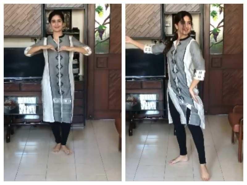 International Dance Day: Vaidehi Parashurami gives a sneak peek of her Bharatnatyam performance; says 'Keep dancing!'