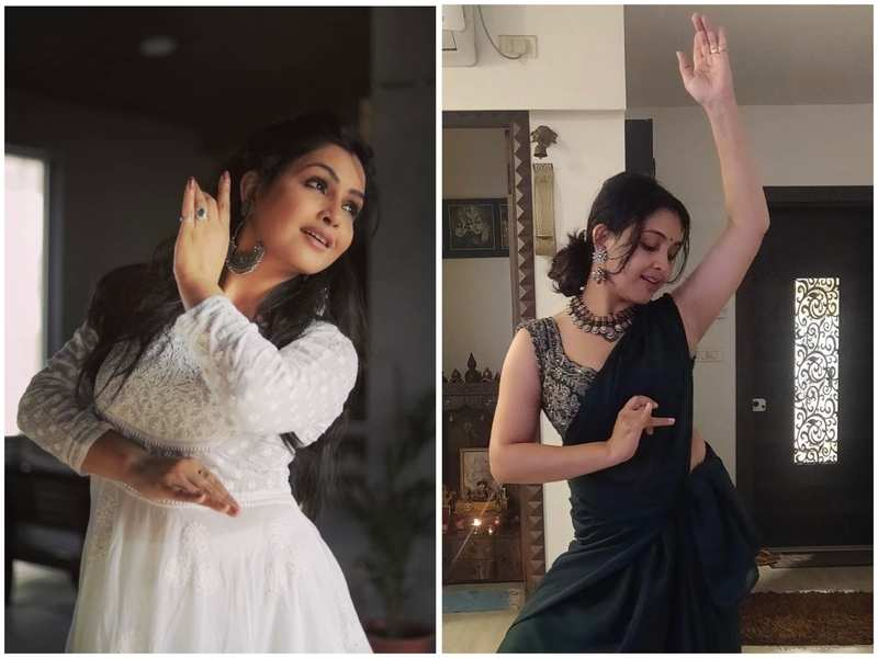 Shubhangi Atre is a trained Kathak dancer and says dancing is an all-time mood booster for her