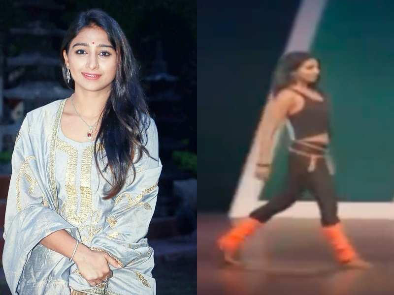 Yeh Rishta fame Mohena Kumari shares video from her audition in Dance India Dance 10 years ago; calls dance her place of joy'