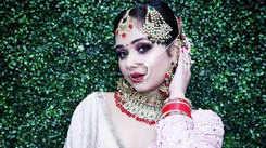 Sneh Upadhya looks ethereal in her latest bridal look