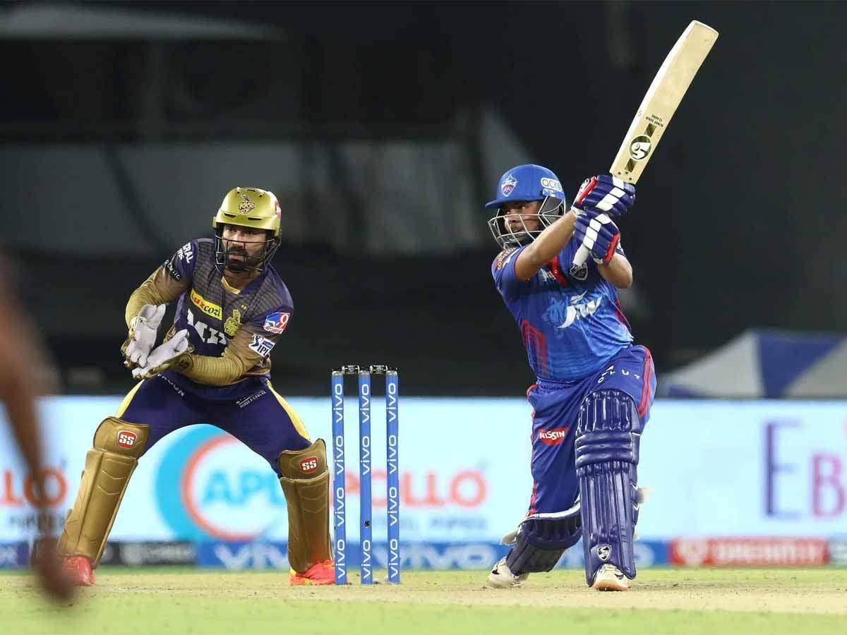 DC vs KKR: Prithvi Shaw's stunning six fours in an over sets up DC's 7-wicket win over KKR | Cricket News - Times of India