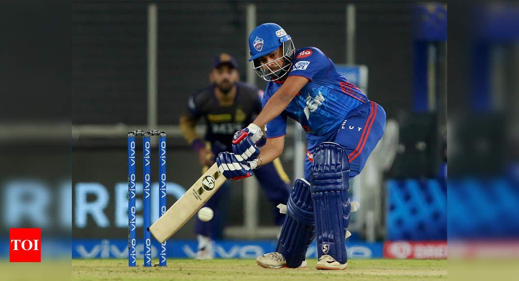 ipl 2021:  IPL: Prithvi Shaw's boundary blitz fashions DC's 7-wicket win over KKR   Cricket News – Times of India