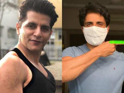 Karanvir lauds Sonu Sood for 'selfless work'