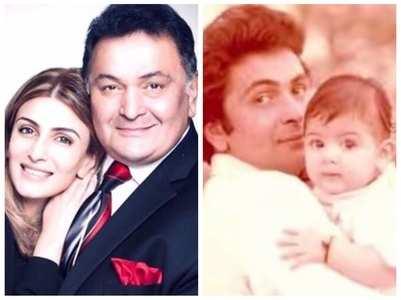 Riddhima remembers father Rishi Kapoor