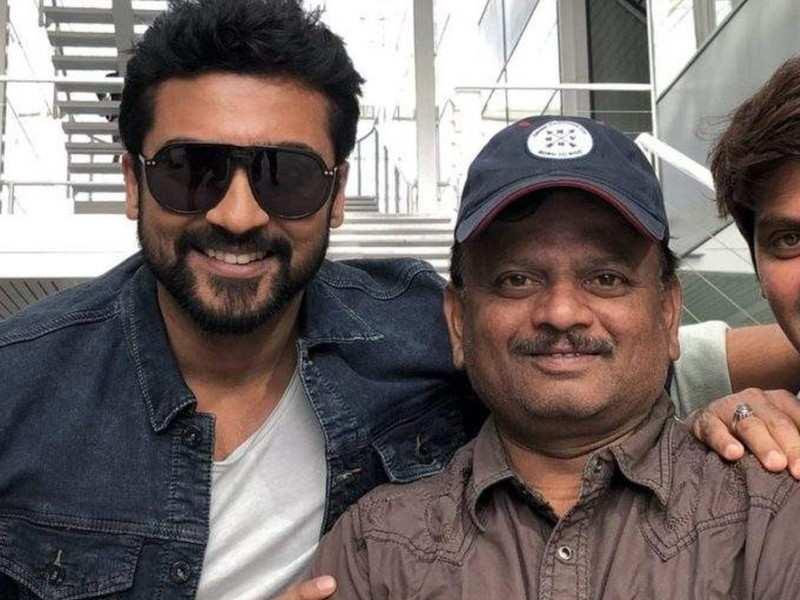 Suriya's favorite director KV Anand