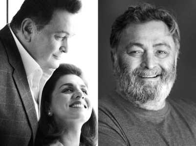Glimpses of Rishi Kapoor by Neetu Kapoor