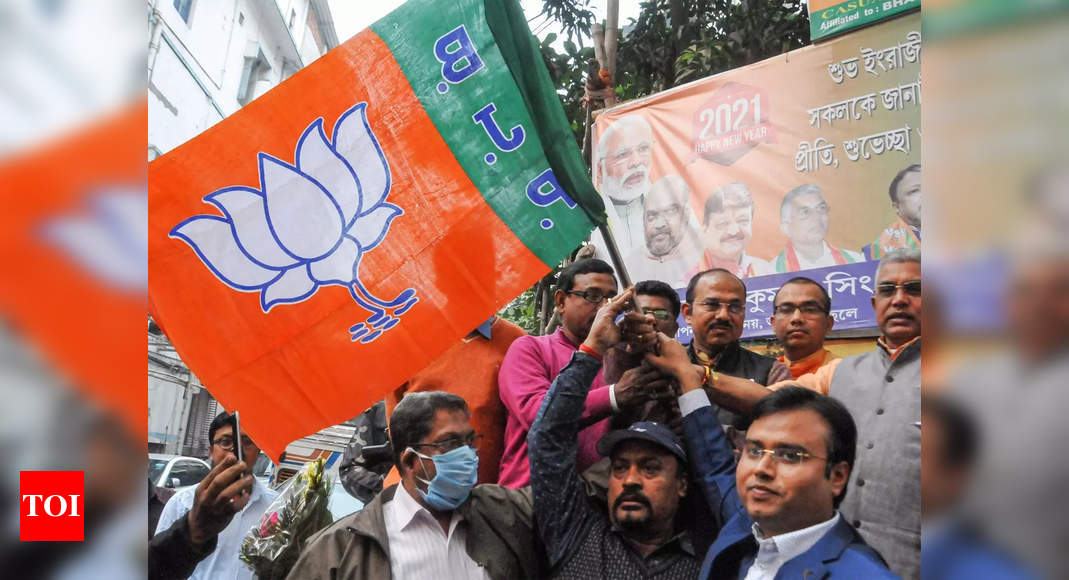 BJP expresses confidence about victory in West Bengal polls - Times of India