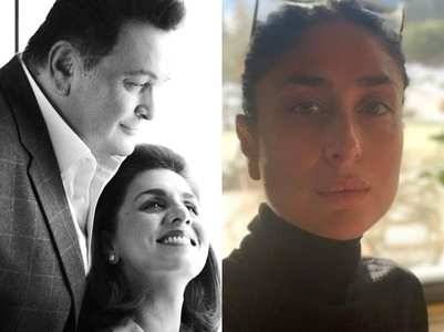 Kareena & B'Wood remember late Rishi Kapoor