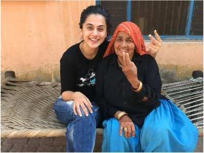 Taapsee on Chandro Dadi's demise
