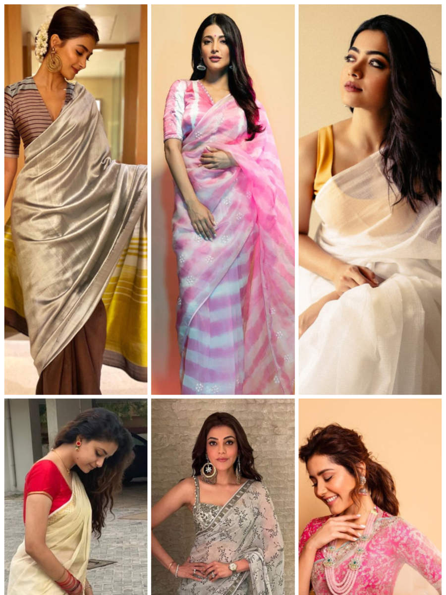 These actresses never fail to sizzle in a saree