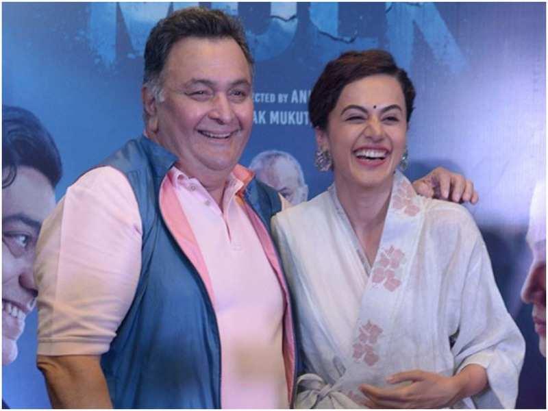 Rishi Kapoor and Taapsee Pannu