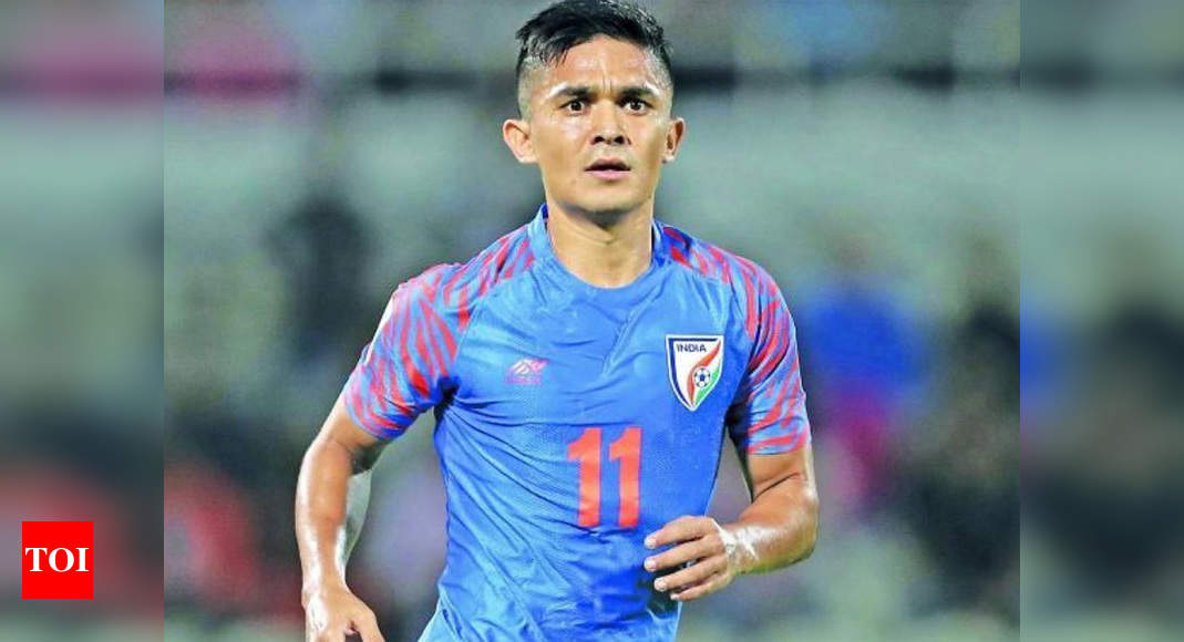 Fight against COVID-19: Sunil Chhetri hands over Twitter account to 'real-life captains' | Football News – Times of India